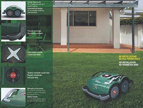 Ambrogio L60/ B Robot Lawn-Mower Ambrogio Robot AM060B0K7Z