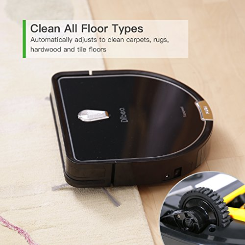 Dibea D960 Robot Vacuum Cleaner, Smart Self-Charging Robot...