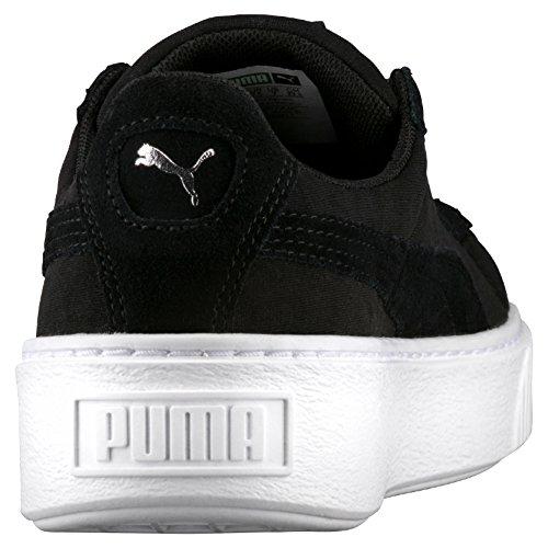 Black Platform De Schwarz Sneaker Basket Damen black Puma xYaqE1wZn