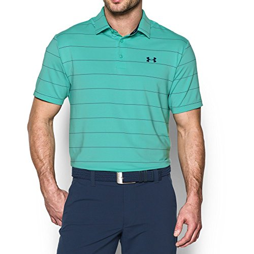 - Under Armour Men's Playoff Polo, Mint /Academy, Small