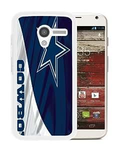 Fashion Style Dallas Cowboys 6 White Special Custom Made Motorola Moto X Cover Case