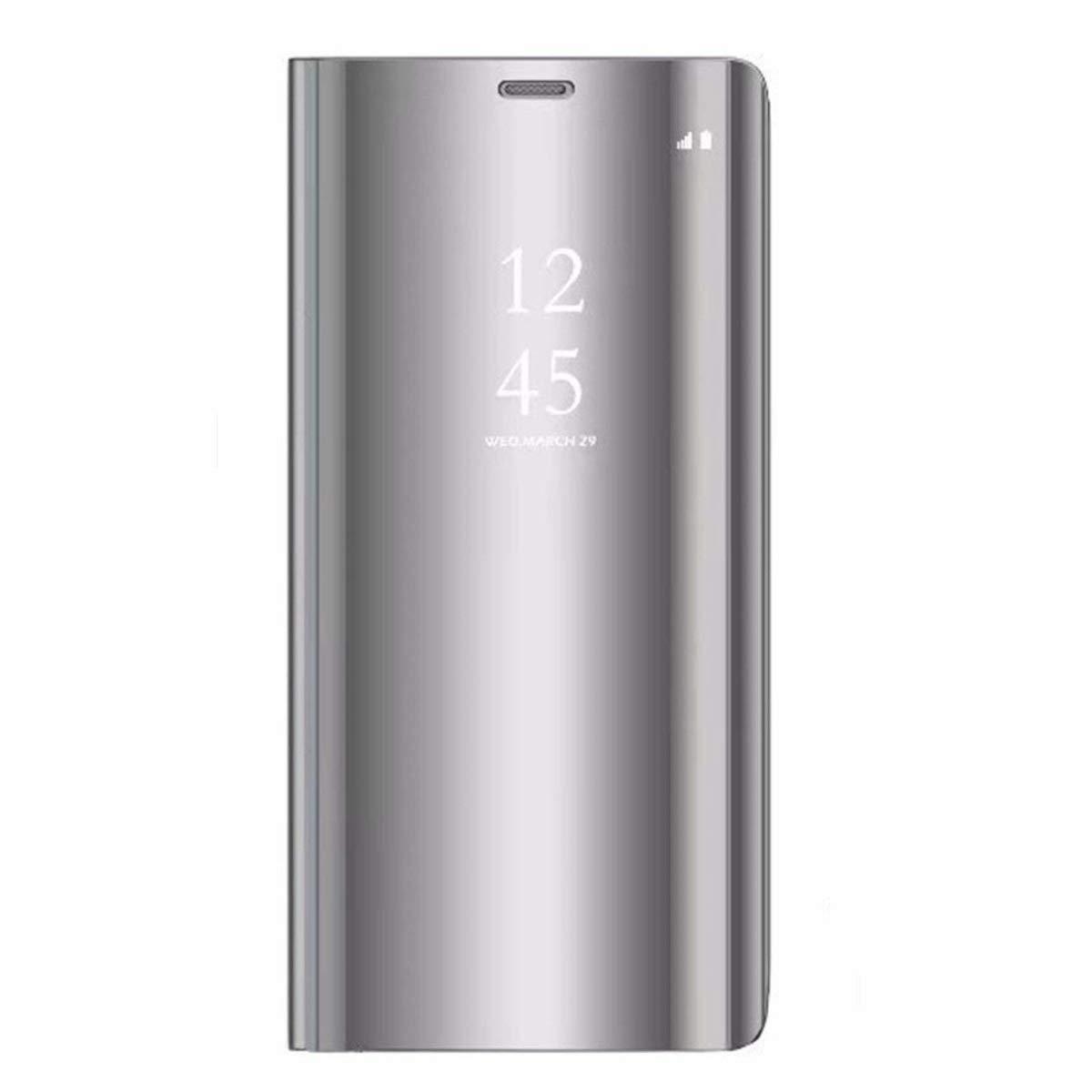 Caler Kompatibel mit//Ersatz f/ür Huawei P30//P30 Pro//P30 Lite Schutzh/ülle mit Geldbeutel Flip Silikon transparent aus Leder Bumper Folio Abdeckung Lusso Mirror Shell
