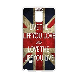 live the life you love Design Discount Personalized Hard Case Cover for Samsung Galaxy Note 4, live the life you love Galaxy Note 4 Cover