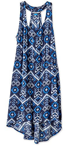 Kavu Jocelyn Femmes Robes De Sport Ikat Bleu
