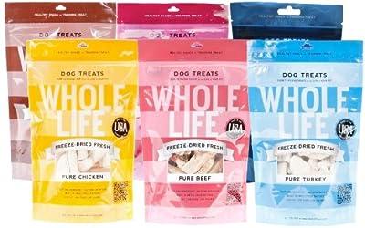 Whole Life Pet Product Dog Treat, Sampler Pack from Whole Life Pet Products