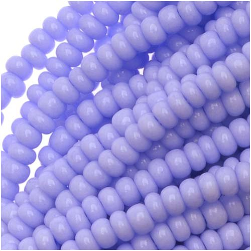 Jablonex Czech Seed Beads Size 11/0 Lupin Purple Opaque (1 Hank/4000 -
