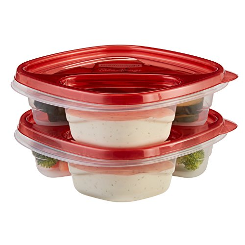 Rubbermaid 1s41 Takealongs Food Storage Container, Snack