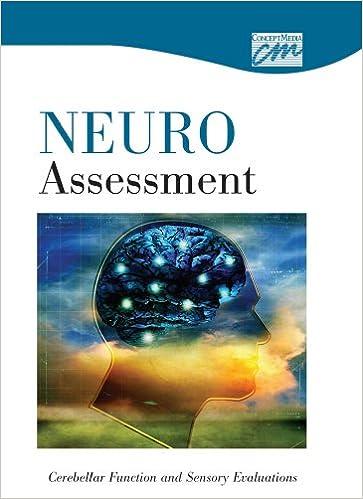 Neurologic Assessment Cerebellar Function And Sensory