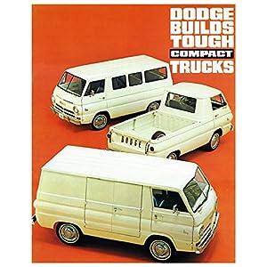 1965 1966 Dodge A100 Sportsman Compact Van Truck Factory Photo