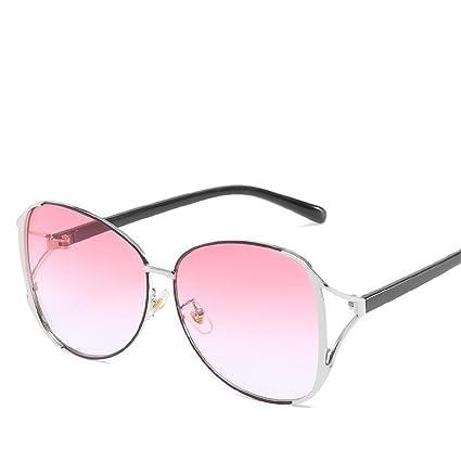 BiuTeFang Gafas de Sol Mujer Hombre Polarizadas Metal ...