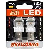 SYLVANIA - 1157 ZEVO LED Amber Bulb - Bright LED Bulb, Ideal for Park and Turn Lights (Contains 2 Bulbs)