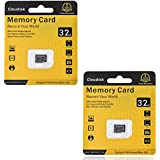 Cloudisk 2Pack Memory Card 32GB Micro SD Cards Extreme Pro MicroSD Card Professional 1080P Full HD Video Shooting TF Flash