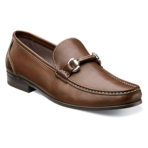 Loafer Bit Men's Leather Felix Slip On Florsheim Brown dnFX1gnx