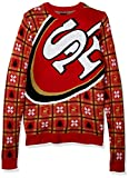 NFL San Francisco 49ers BIG LOGO 2018 Ugly Sweater, X-Large