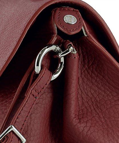 06553p673 Zanellato Borsa Pelle Rosso Donna Mano A wITqZa