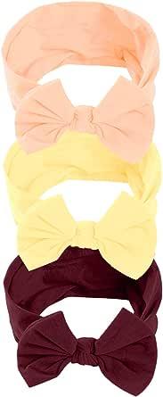 Hocaies Vendas del bebé Hairband de los bebés recién Nacidos Diademas de bebé anchas con lazo Diadema Elástica Niñas Banda Para Cabeza Bebe Accesorio Bebe Niñas Recien Nacida