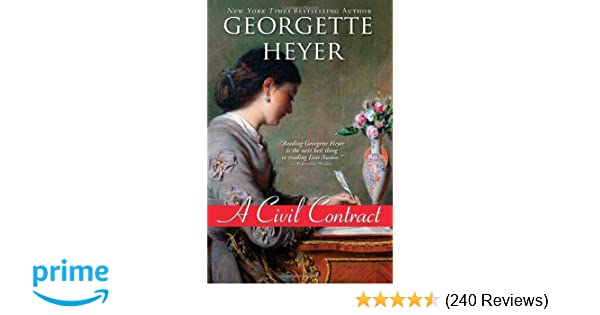 A Civil Contract (Regency Romances): Georgette Heyer