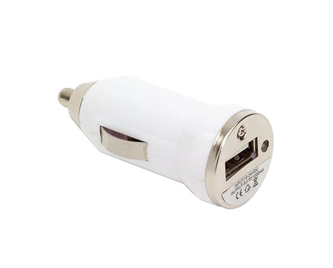 Zigarettenanzünder Adapter auf USB Kfz Adapter Universal Adapter Handy Größe: Ø2,4 cm 12- und 24-Volt-Anschluss