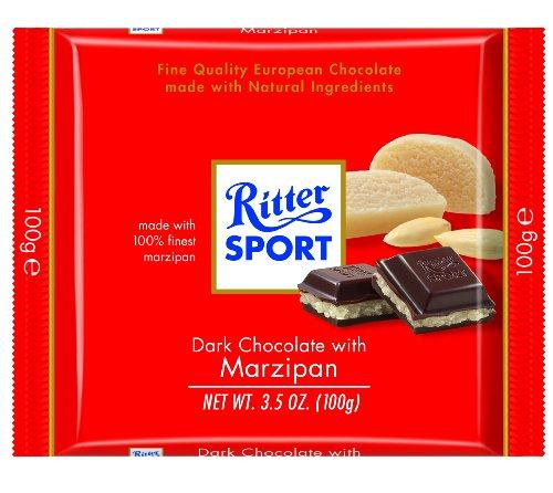 Ritter Sport Marzipan - Ritter Sport Marzipan Chocolate 100g Bar