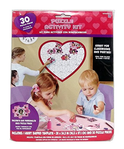 30 Piece Heart Puzzle Activity Kit]()