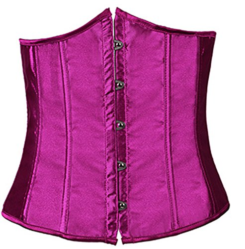 Cincher E Underbust Purple Rocker SHINE Fashion Waist Women's Style CO Vest Corset HqHwr4