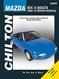 mazda mx 5 miata 1990 2009 chilton s total car care repair manual rh amazon com 2000 Miata 2000 Miata