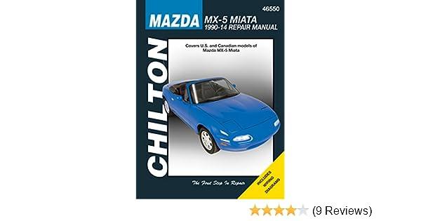 amazon com mazda mx 5 miata chilton repair manual 1990 2014 rh amazon com Miata Manual Transmission Manual Miata Interior