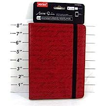 Verso Artist Series iPad Mini Kindle Fire HD Size M8 - Elegant Red
