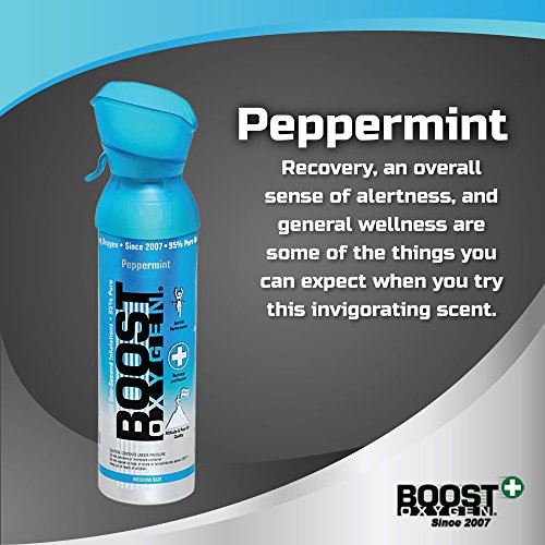 Boost Oxygen- 95% Pure Aviator's Oxygen- 5 liters by Boost Oxygen (Image #6)