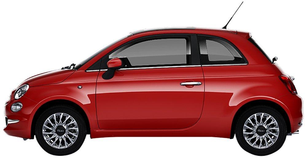 Fiat 500 Lounge 1.2 bz Rossa noleggio a lungo termine Be-Free Plus Welcome Kit