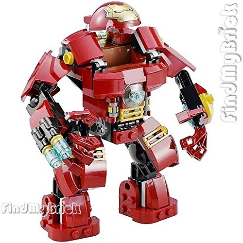 Armor Buster Ironman Hulk (Lego LOOSE Iron Man Hulk Buster Minifigure Armor ONLY as Image Show [ NO Minifigure NO Box ] LOOSE from 76031 (NEW Lego Sold Loose as Image Show))
