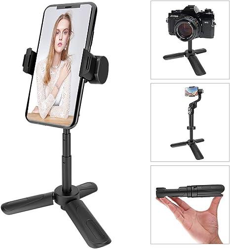 Trípode para teléfono móvil, Soporte para cámara portátil, trípode ...
