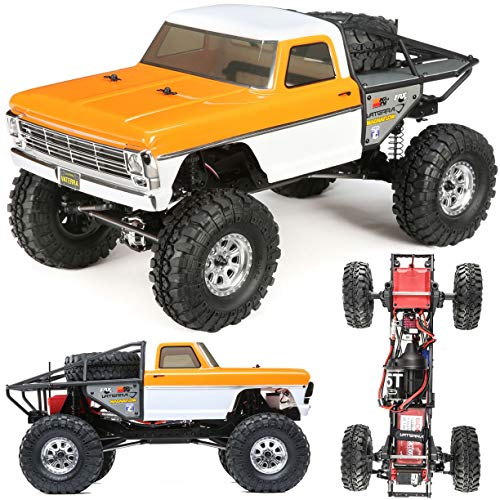 VTR 1/10 1968 Ford F-100 Ascender 4WD BND Toy Remote Controlled Vehicles