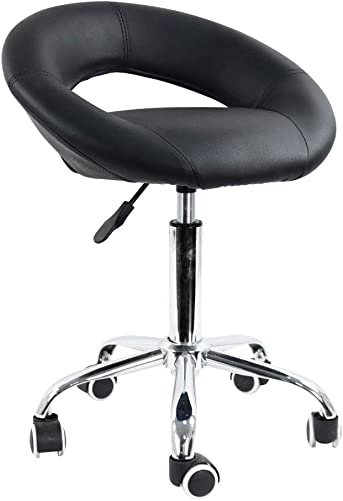 Low Back Height Adjustable Swivel Chair Ergonomic Modern Office Chair Semicircular Office Computer Chair