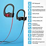 Mpow Flame Bluetooth Headphones Waterproof IPX7, Wireless Earbuds Sport, Richer Bass HiFi Stereo in-Ear Earphones w/Mic, Case, 7-9 Hrs Playback Noise Cancelling Headsets (Comfy & Fast Pairing)