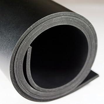 5m² Gummiplatte   Stärke: 5mm   1, 20m x 4, 17m   NR/SBR   mit Einlage Nord-Industriegummi