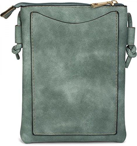 Rivetti Nero Tracolla Tracolla Stylebreaker Fiori Colore Giada Minibag E Recisi Occasione Borsa Verde 02012127 Signora A Borsa 6x6qpS8C