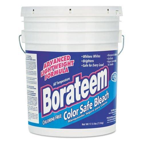 Borateem Color Safe Bleach, Powder, 17.5 lb. Pail - Includes 16 per case. by Borateem