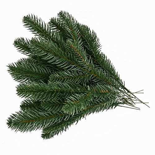 - Echodo Artificial Pine Picks Garland for Christmas Pine Branches Flower Arrangements Wreaths and Holiday Decorations Set of 20