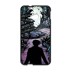 Black horrific man Cell Phone Case for HTC One M7