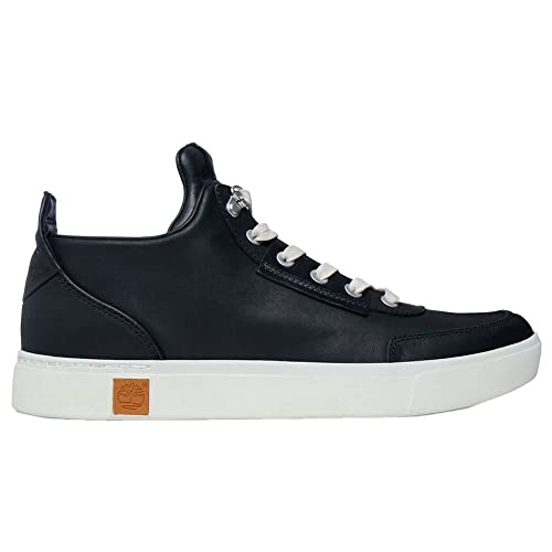 Timberland Zapatillas Abotinadas Amherst High Top CHU Black Negro EU 40 (US 7): Amazon.es: Zapatos y complementos