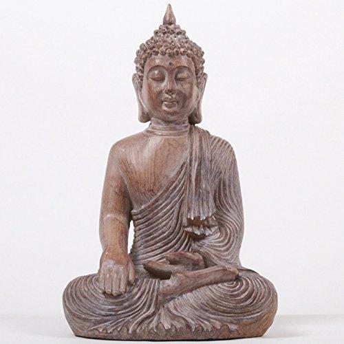 Deko Asien BUDDHA Figur Statue Skulptur FENG SHUI 43cm