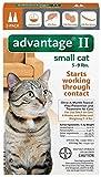 Advantage II Flea prevention for Small Cats, 5 - 9 lbs,  2 doses