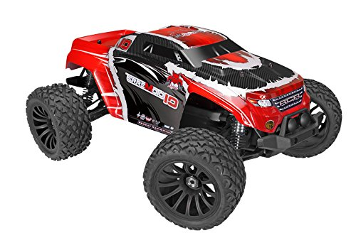 - Redcat Racing Terremoto-10 V2 Brushless Electric Monster Truck (1/10 Scale), Red
