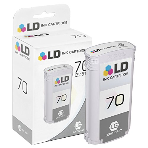 LD Remanufactured Ink Cartridge Replacement for HP 70 C9451A (Light - C9451a Light