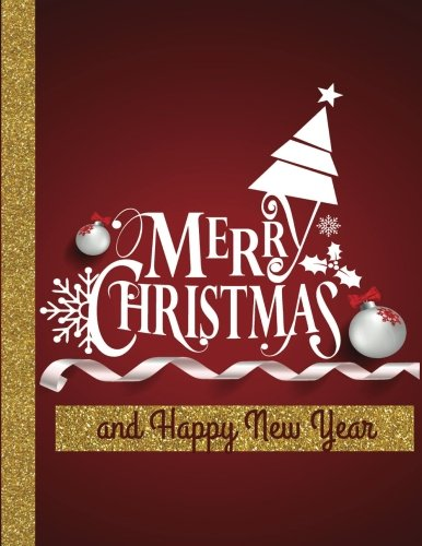 Merry Christmas  and Happy New Year: Greeting Card/Personalized Gift/Unusual Gift/Jumbo Greeting Cards/Oversize Greeting Cards/Funny Cards (Jumbo Greeting Cards, Oversize cards, Big Cards) (Merry Christmas And Happy New Year Greeting Card)