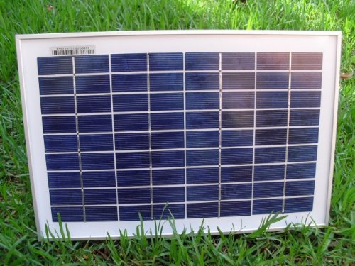 Solar Powered Outdoor 20 Watt Garden Water Pump Landscape...