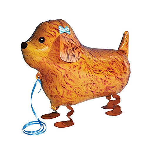 WonderfulDress My Own Pet Animal Farm Party Walking Balloons (One Size, Poodle Dog)