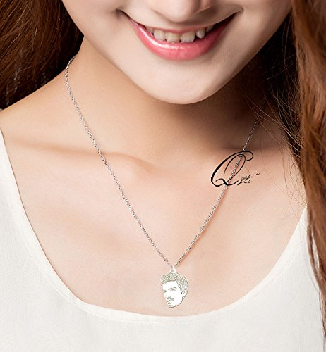 Silver Necklace Jewelry Private custom Provide photo customization silver DIY Pedant pet Necklaces