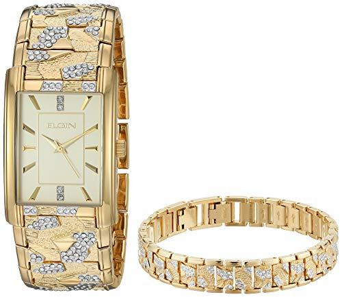 (Elgin Fashion Watch (Model: FG16001GTST))